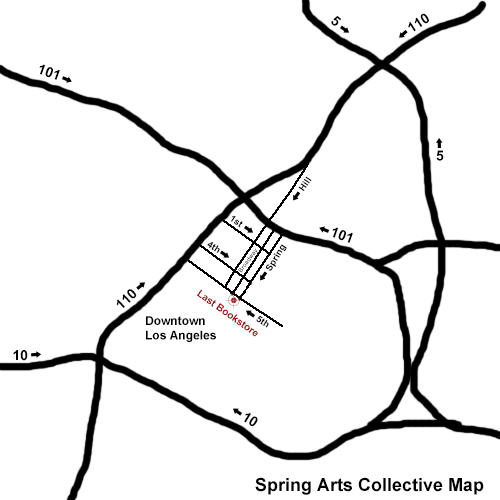 Spring Arts Collective Map