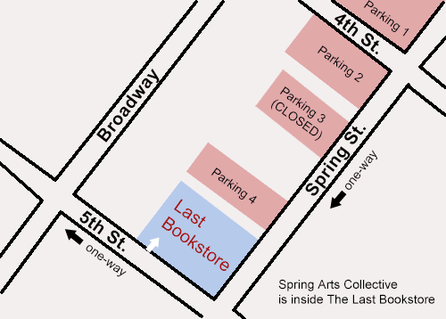 Spring Arts Collective Parking